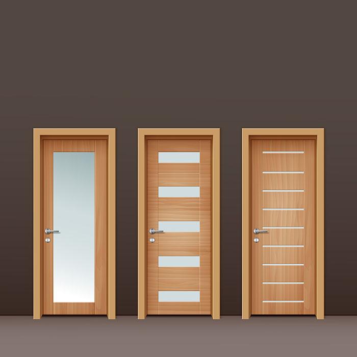 timber doors cork