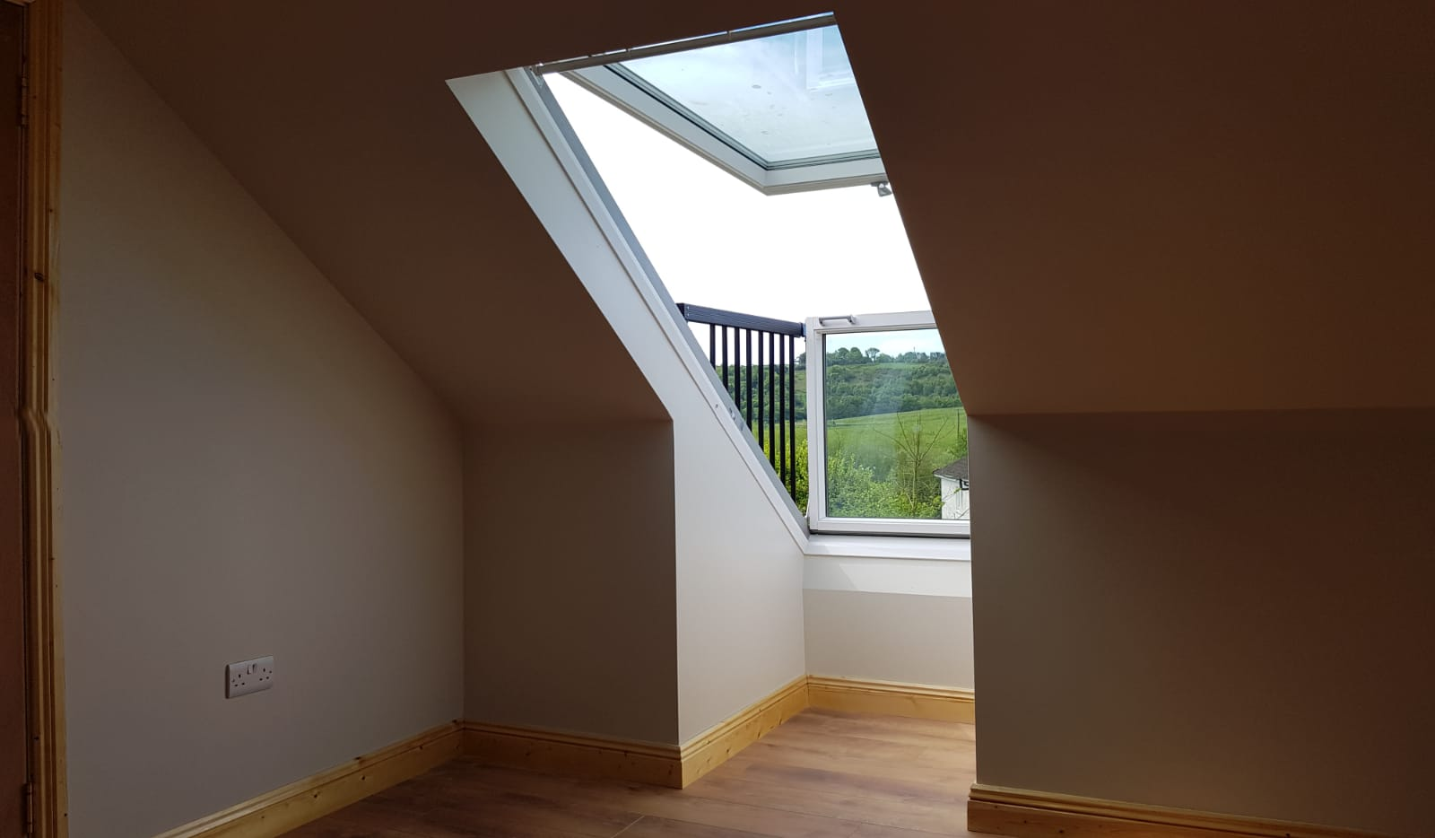 attic conversion project in blackpool