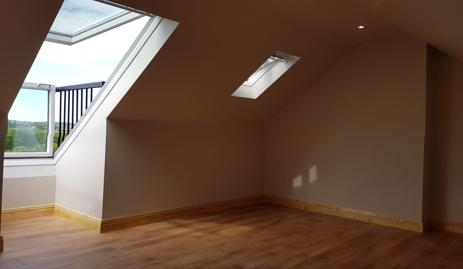 attic conversion project by gmc carpentry in cork