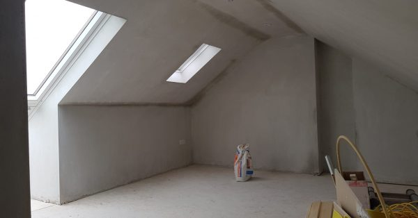 attic conversion project