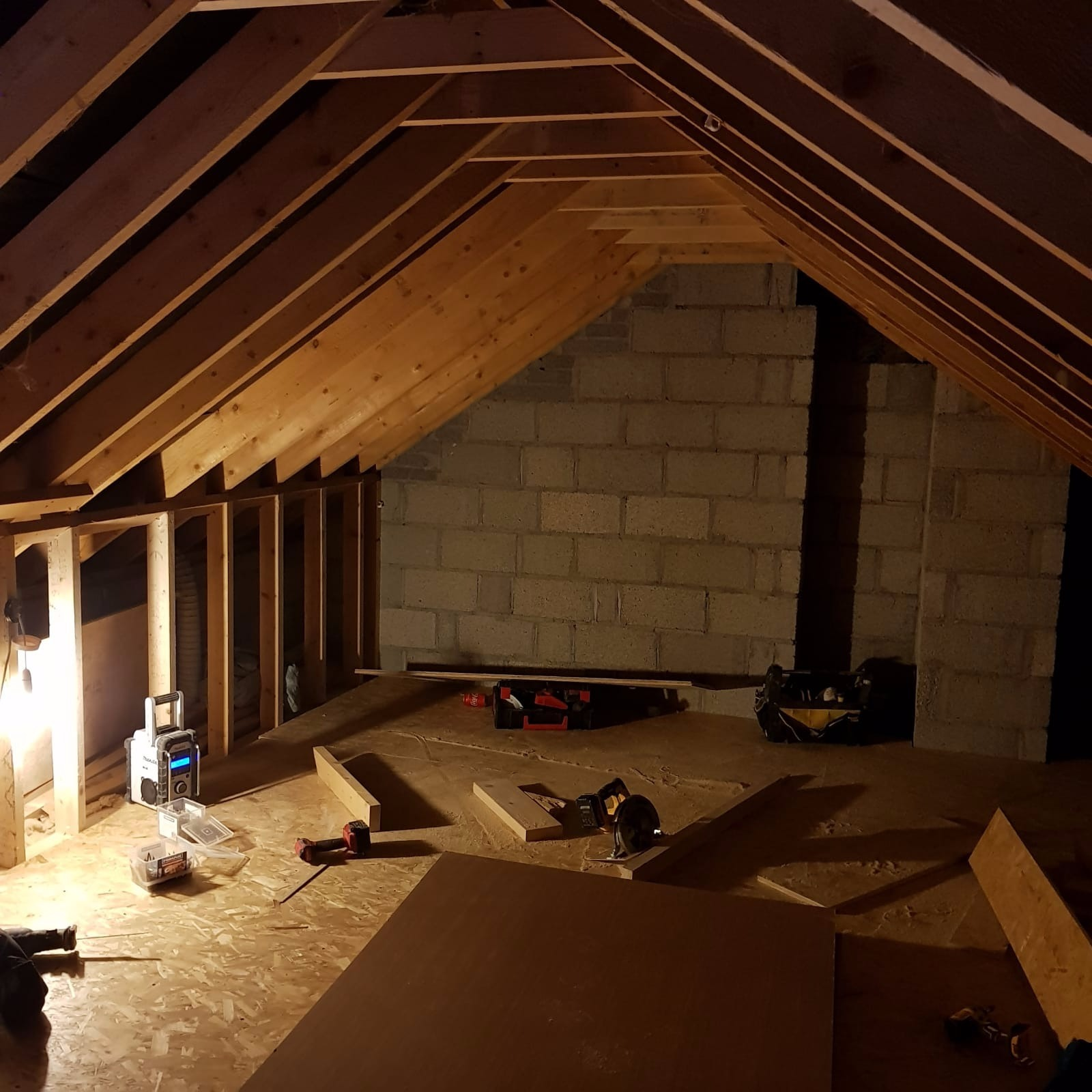 attic conversion work in ballincollig