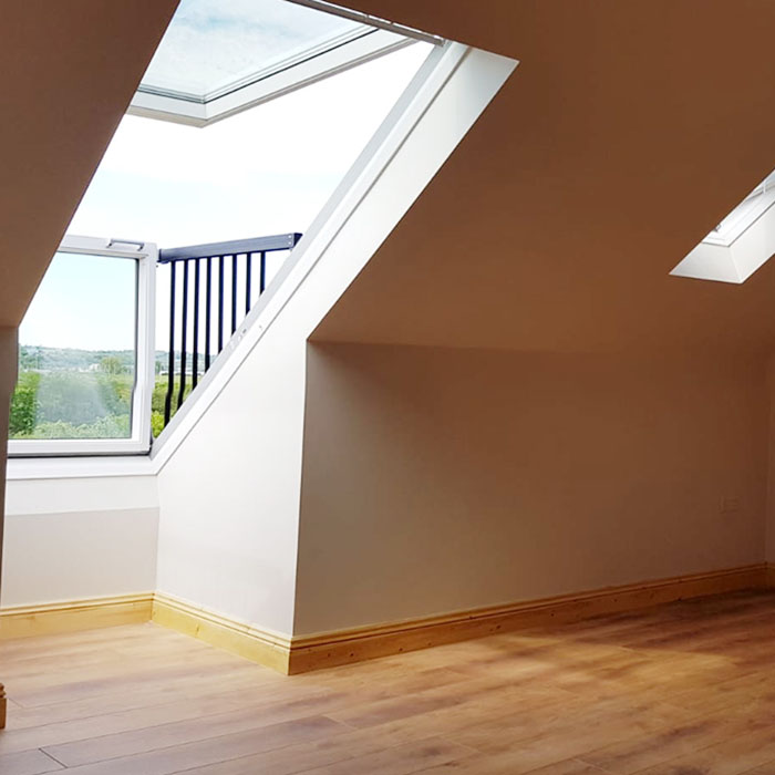 attic conversion cork