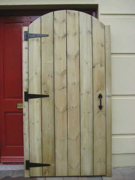 timber gate by gmc carpentry cork