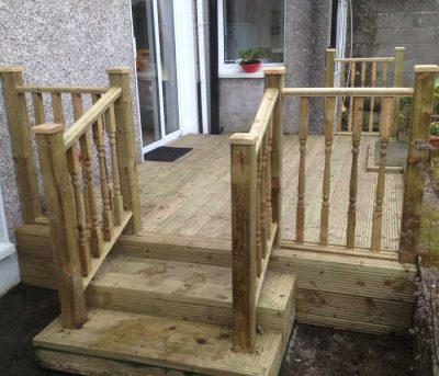 outside timber decking