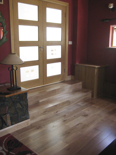 timber doors and timber floor installation
