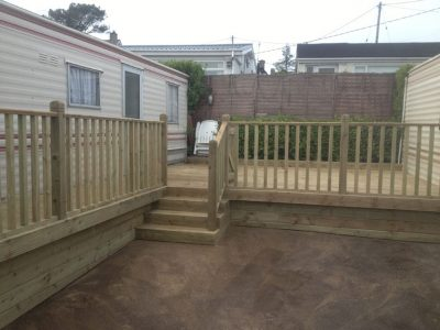 exterior timber decking cork