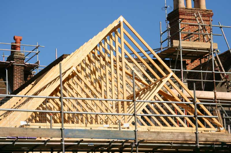 timber frame roofing cork