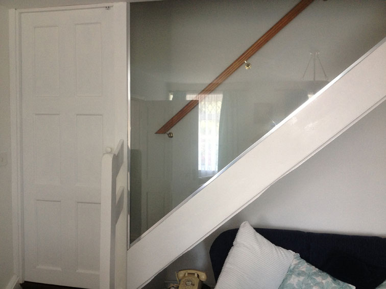 stair carpentry cork