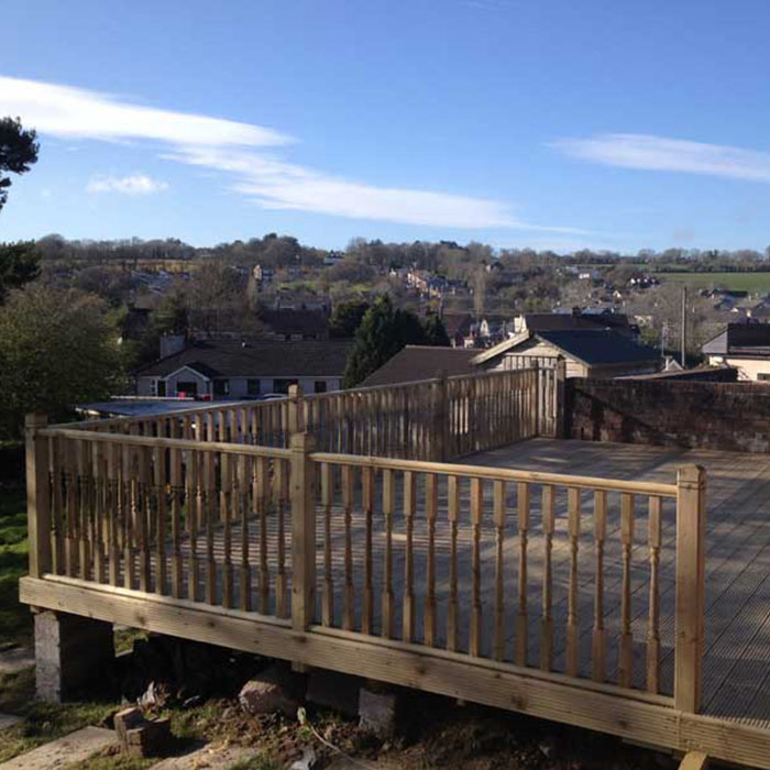 timber decking company cork
