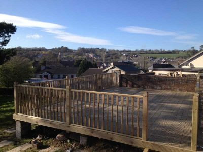 timber decking cork