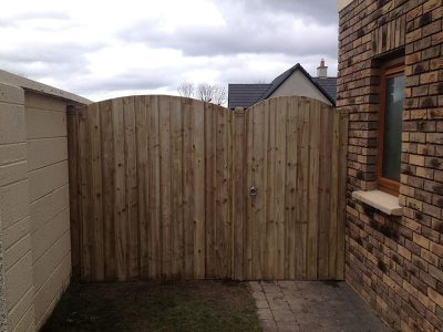 timber gate installation by gmc carpentry