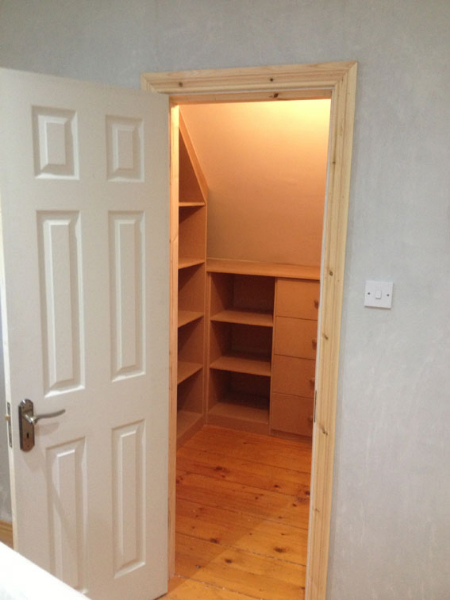 fitted wardrobe installation cork