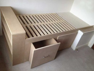 hanmade timber bed frame