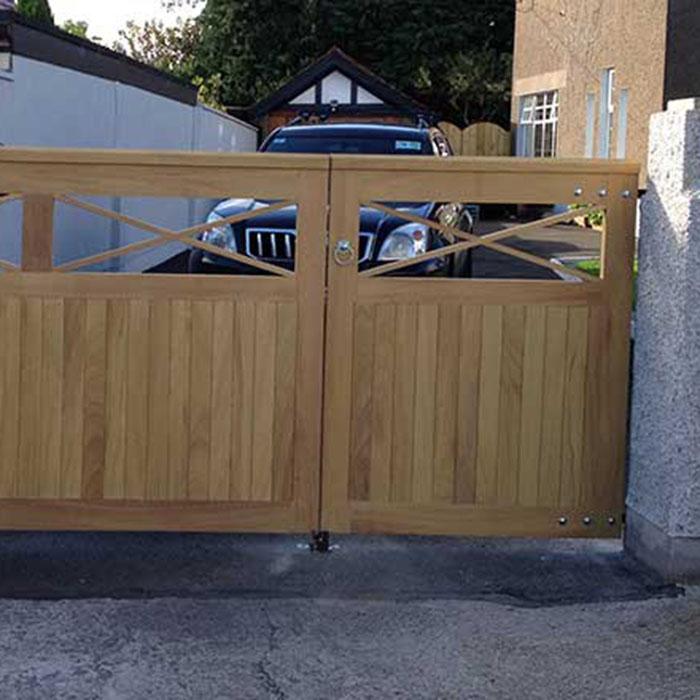 wooden gates cork
