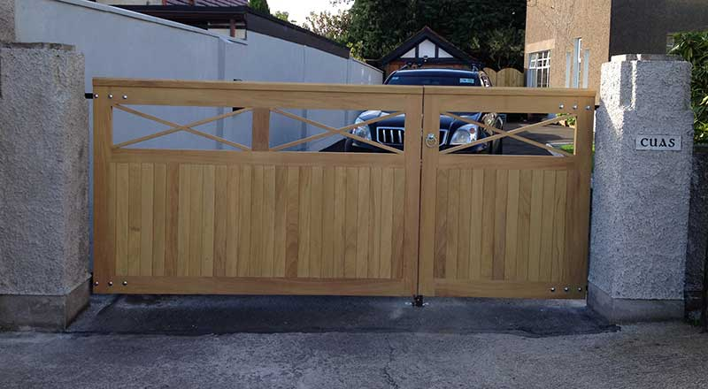 wooden gates project cork