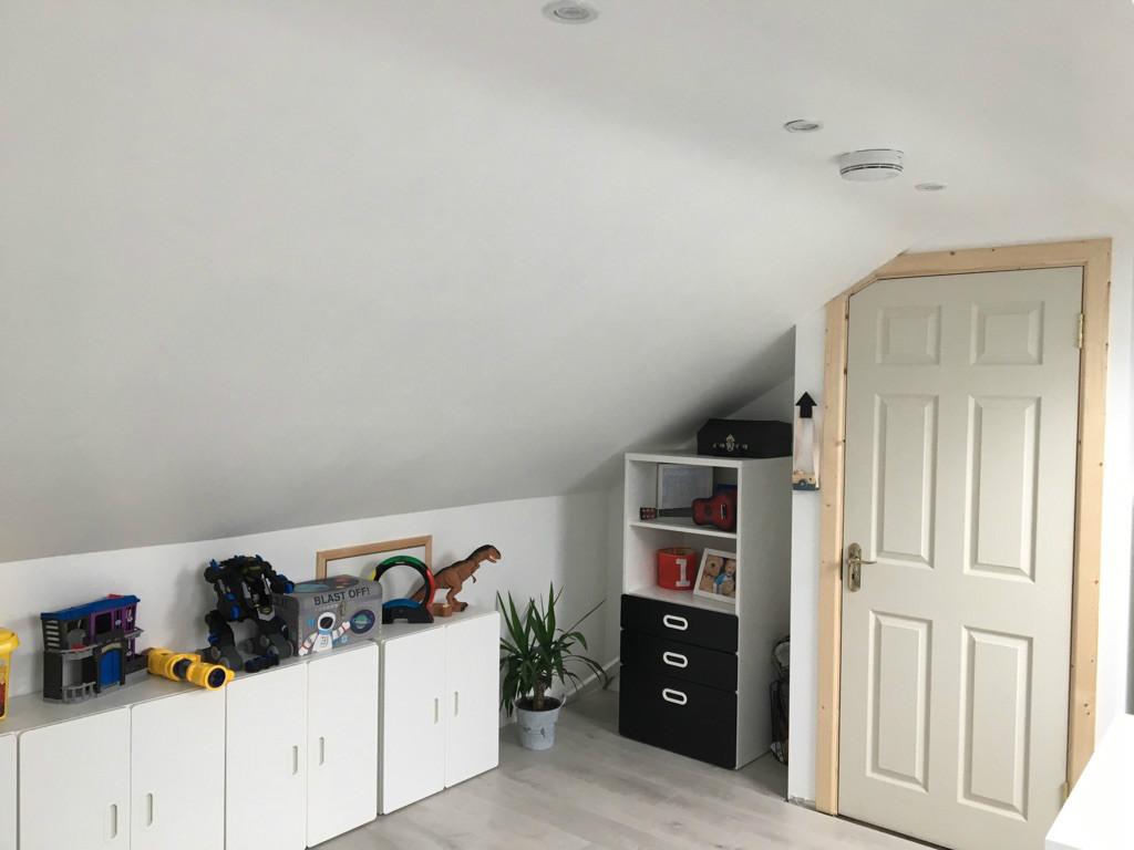 converted attic for 3 bedroom in cork