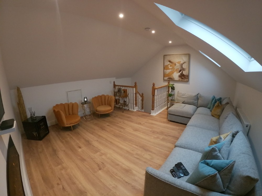 attic conversions for a new living room in cork