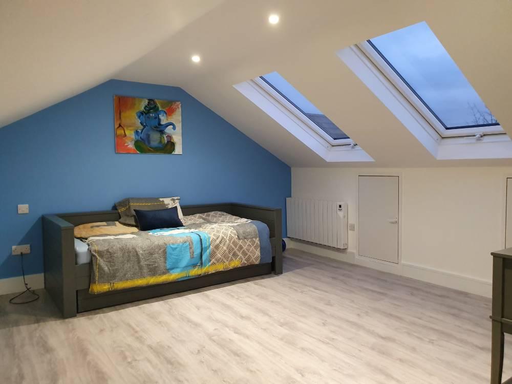 attic conversion project in Cork